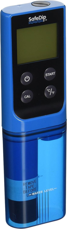 Medidor digital de pH, cloro, sal y temperatura Solaxx.