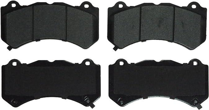Front Wagner QuickStop ZX376 Semi-Metallic Disc Pad Set