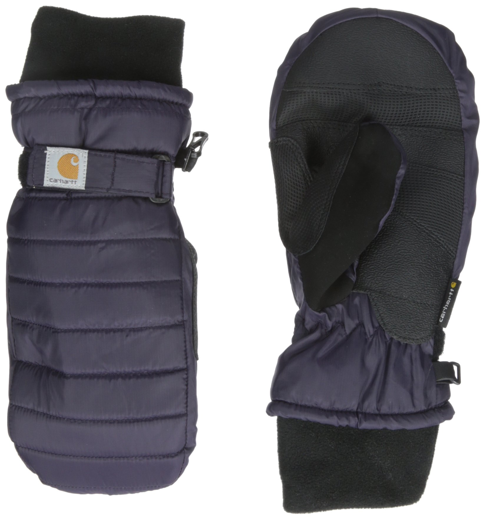 Carhartt Women's Quilts Insulated Breathable Mitt with Waterproof Wicking Insert, Nightshade, Medium