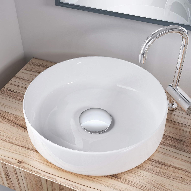 PO01 Tappo di scarico per lavabo Pop Up in ottone cromato