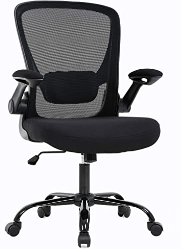 Office Chair Desk Chair Mesh Computer Chair Ergonomic Executive Swivel Rolling Chair Computer Stool
