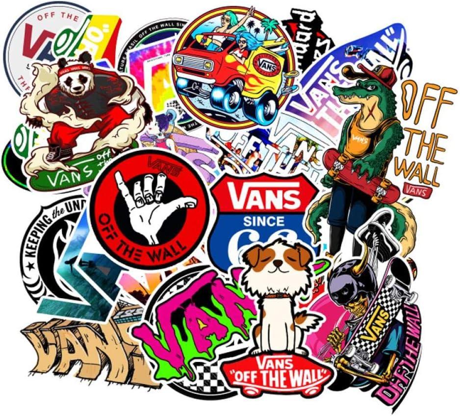 100 Skateboard Aufkleber Sticker von Vans kaufen