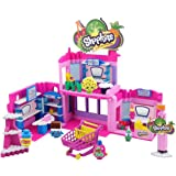 Shopkins Kinstructions Deluxe Shopville Mall - Exclusive Shopkins, 410 pcs