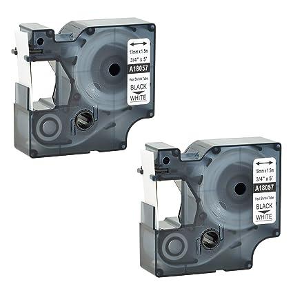 Amazon Com Kcymtoner 2 Pack Printable Heat Shrink Tubing