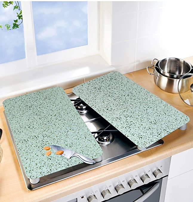 Sainless steel cutting board countertop protector excellent next to the grill