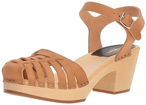 Nueva Llegada Swedish Hasbeens Fredrica amazon-shoes marroni Pelle Calidad Superior De La Venta XcyphO8