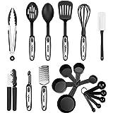 NEXGADGET Utensilios de Cocina 19 piezas Conjuntos de Acero Inoxidable y ABS Nylon Herramientas de Cocina