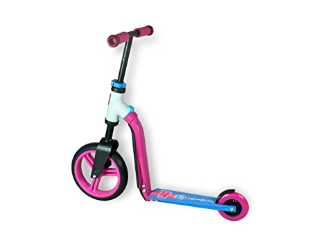Schylling Scoot & Ride Highway Ride On, Buddy Pink/Blue