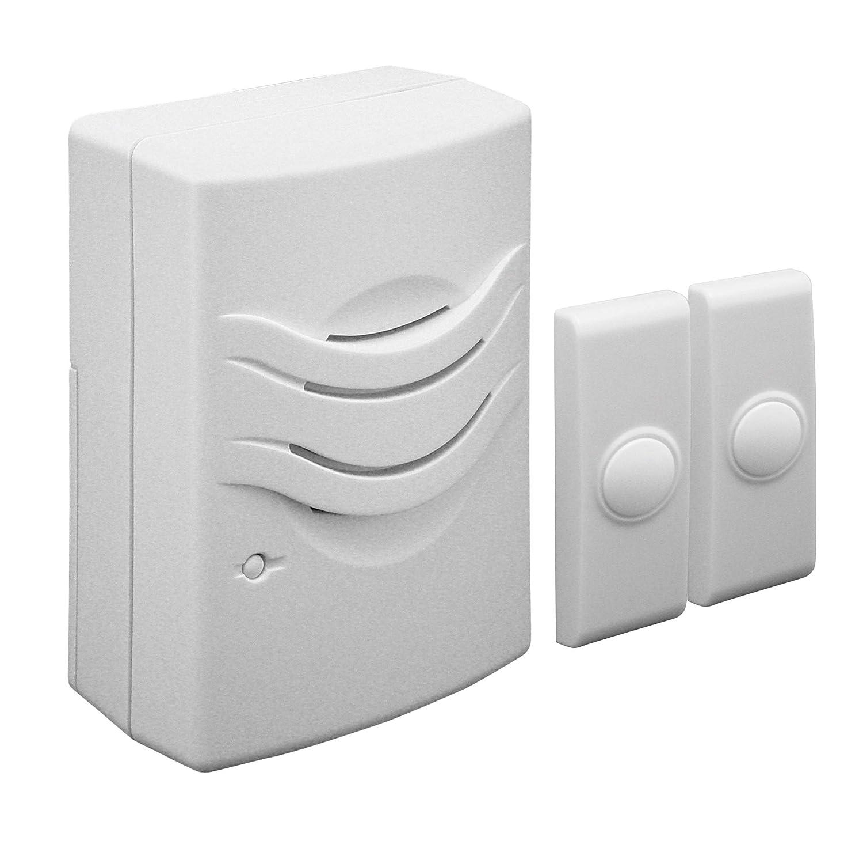 FLI Products WD 1142 Wrls 2Tn 2 Push Button Doorbell