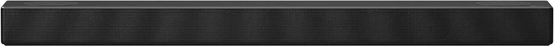 LG SN7CY - Barra de sonido Hi-Res con Dolby Atmos (24 bits/192 kHz, 160 W de potencia, sistema 3.0.2, subwoofer integrado, 4 KPass Through y Bluetooth con tecnología Meridian)