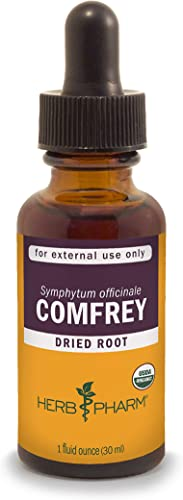 Herb Pharm Certified Organic Comfrey Liquid Extract – 1 Ounce