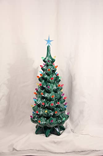 Tall Modern Ceramic Christmas Tree