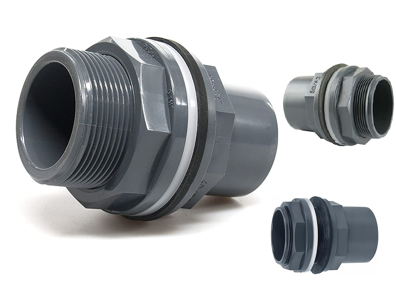 1 Stück PVC T-Stück 90° 40 mm ECO Koi Teich Filter