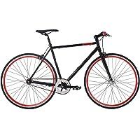 KS Cycling 163R Vélo Mixte Adulte, Noir