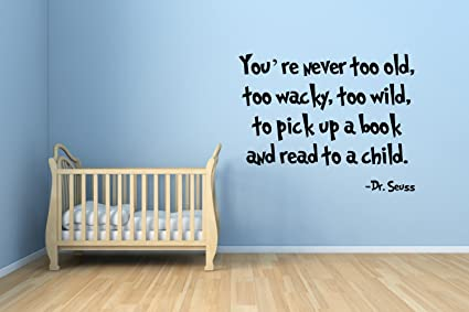 Dr Seuss Quote Sticker