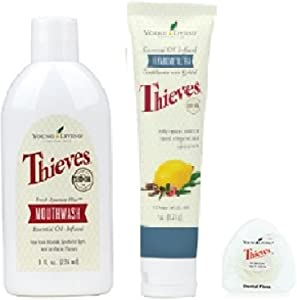 Young Living Essential Oils - Thieves Oral Care Kit