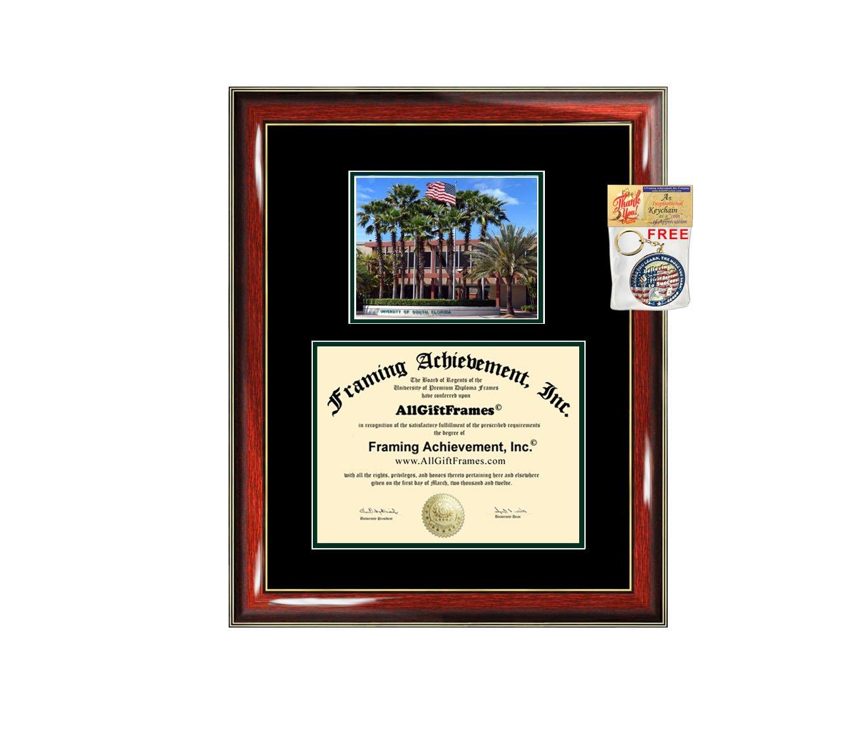 Amazon University Of South Florida Diploma Frame Campus