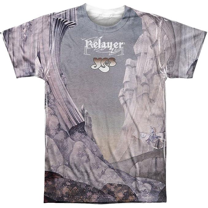 Yes Sí relayers Sub (Delantera y Trasera) de impresión - sublimación Camiseta: Amazon.es: Ropa y accesorios
