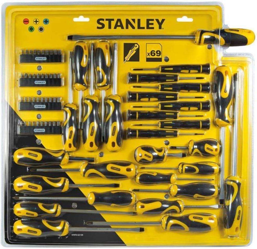 Stanley STHTO-62143 Set 57 PEZZI ATTREZZI UTENSILI INSERTI CACCIAVITI