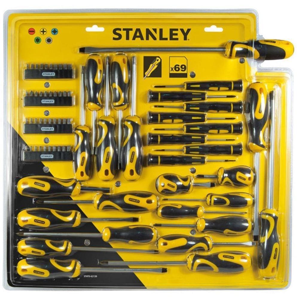 Stanley STHT0-62139 Jeu de 69 tournevis et embouts Stanley outillage - Tools - FR