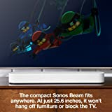 Sonos Beam - Smart TV Sound Bar with Amazon Alexa
