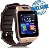 Padraig Samsung galaxy J7 4G Compatible Bluetooth DZ09 Smart Watch Wrist Watch Phone with Camera & SIM Card Support