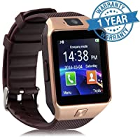 Padraig Camera & SIM Card Supported Bluetooth DZ09 Smartwatch Compatible With Samsung galaxy J7 4G