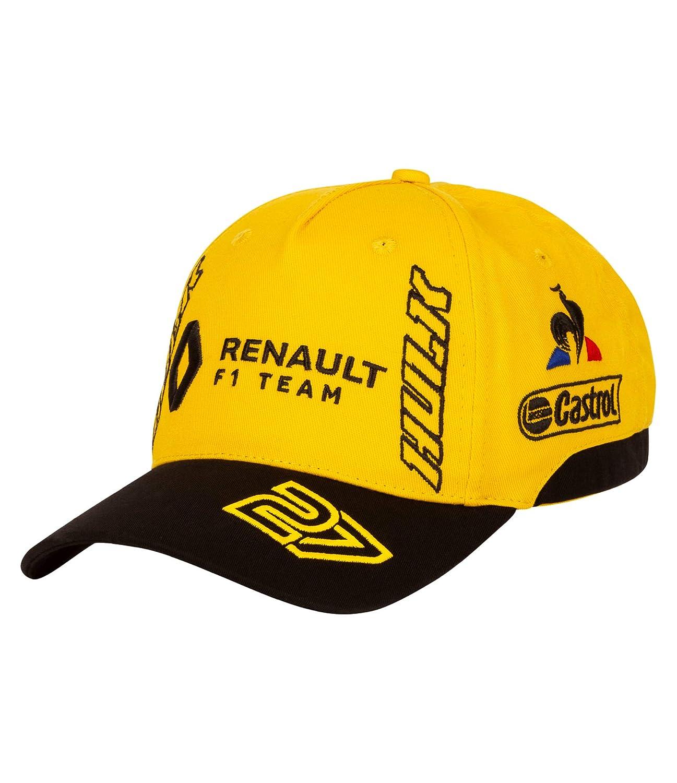 Renault F1 2018 Team T Shirt Tee Top Yellow//Black Kids Le Coq Sportif