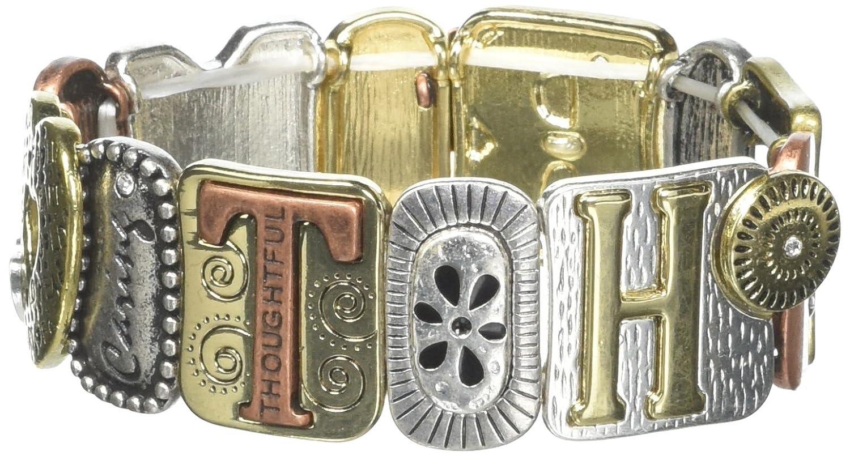 Alora Tile Stretch Armband DM Merchandising MOMTRI-BR