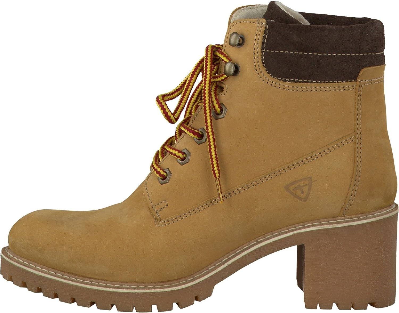 Tamaris Damenschuhe 1 1 25263 27 Damen Schnürboots, Boots, Stiefel, Stiefeletten