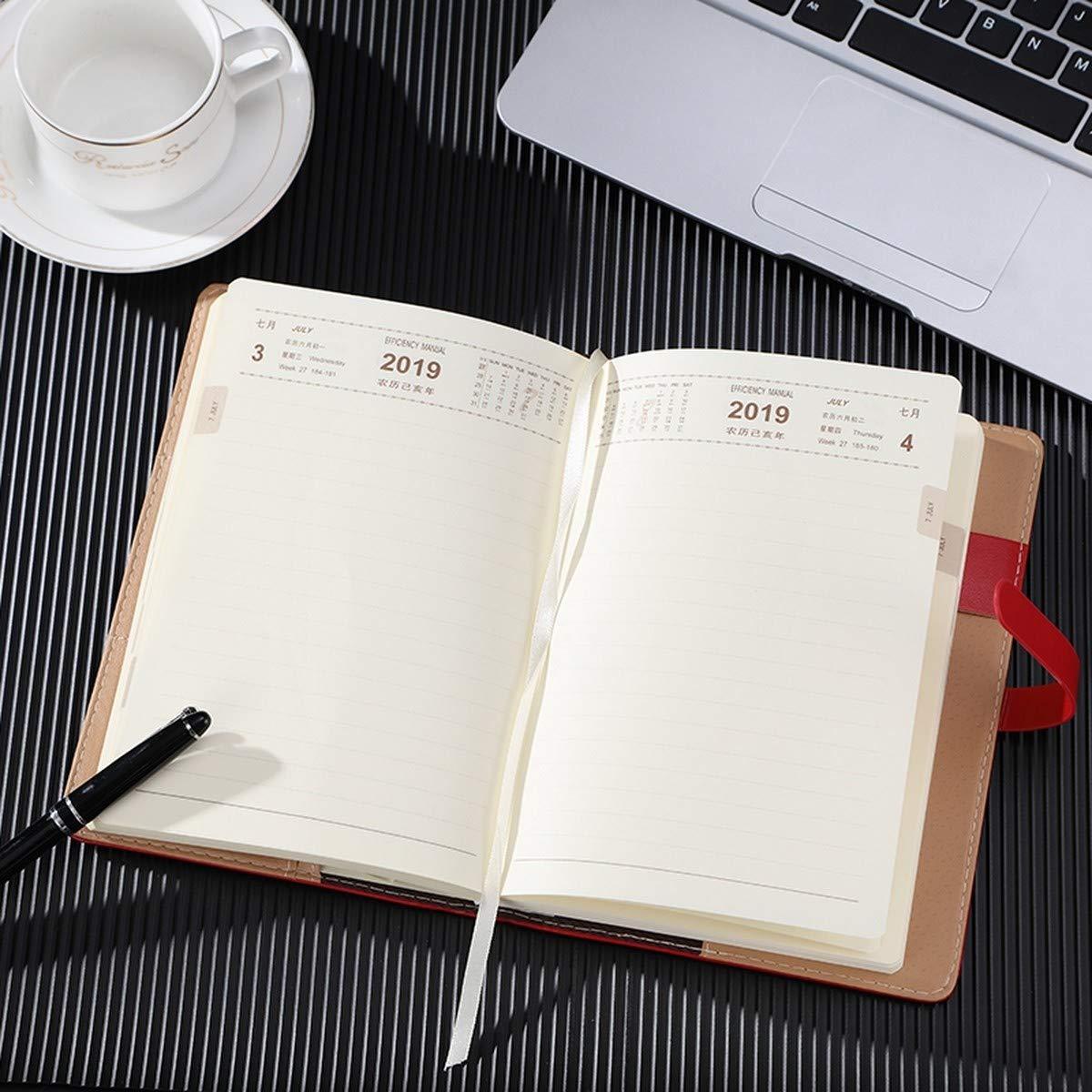 NTCY Cuaderno Programa De De Trabajo Manual De Programa Eficiencia 2019 Este Bloc De Notas Bloc De Notas Bloc De Notas Oficina De Negocios Papelería Bloc De Notas Grande,C a1b51c