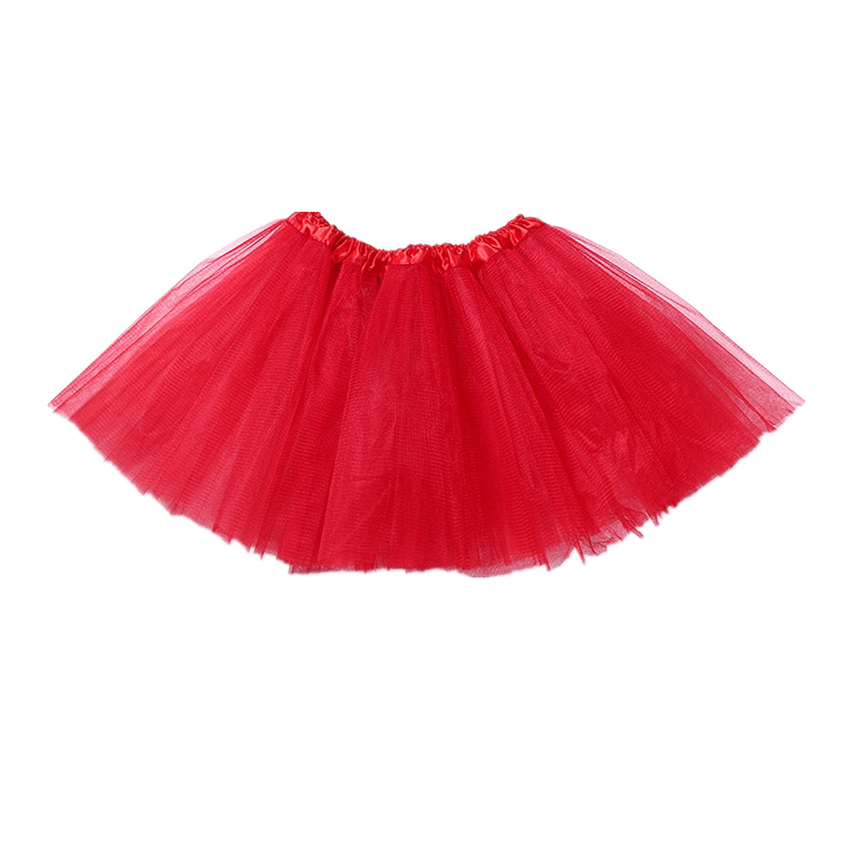 Kmool 3-Layered Tulle Tutu Skirt for Women & Girls with Elastic waistband