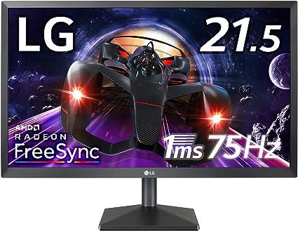 LG ゲーミング モニター ディスプレイ 22MK400H-B 21.5インチ/フルHD/TN非光沢/1ms(GtoG)/75Hz/FreeSync/HDMI,D-Sub/フリッカーセーフ,ブルーライト低減