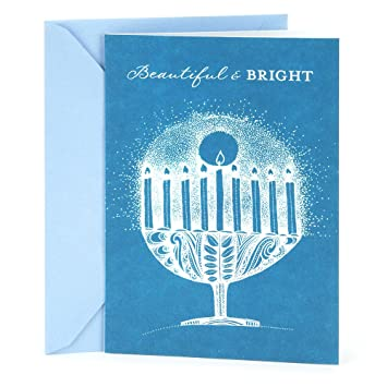 Amazon hallmark tree of life hanukkah greeting card white hallmark tree of life hanukkah greeting card white menorah m4hsunfo