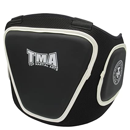 Sanda Karate Protector de Ingle Boxeo Protector de Ingle Ajustable para Hombre para Taekwondo