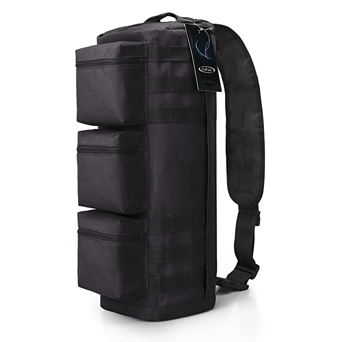 Tactical Assault Messenger Gym Hiking Camping bag