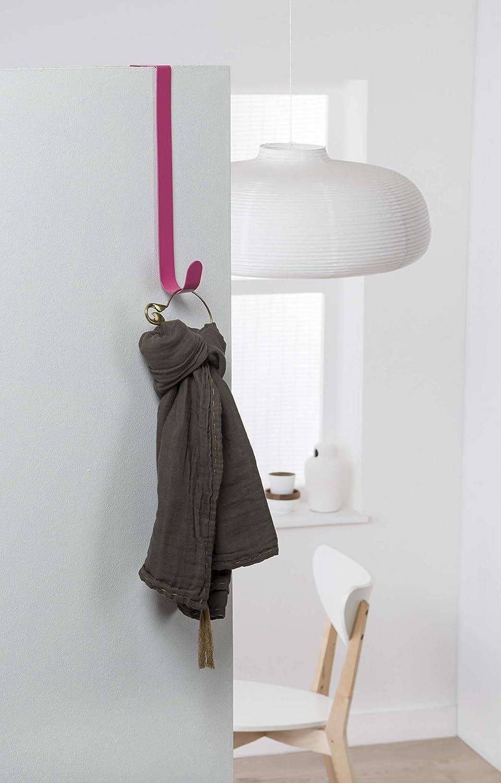 Grey Compactor Solo Steel Over Door Easy Reach Hanging Hook