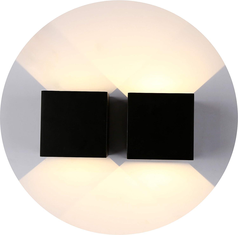 Lampada DA PARETE SOFFITTO ALLUMINIO ANTRACITE ip65 LED semplicemente