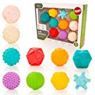 Tippi 10 Soft Sensory Play Ball Set - Baby or Toddler Toy