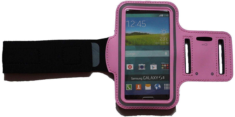 Brassard de Sport imperm/éable Housse de Protection pour Samsung Galaxy A6 avec Sortie Casque pour Fitness Jogging Blank L Dunkel-Blank