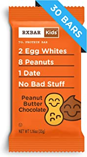 product image for RXBAR Kids Real Food Protein Bar, Peanut Butter Chocolate, Gluten Free, 1.16oz Bars, 30 Count