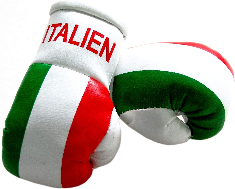 Mini Boxhandschuhe Italien 1 Paar 2 Stück Miniboxhandschuhe Z B Für Auto Innenspiegel Sportfanshop24 Auto