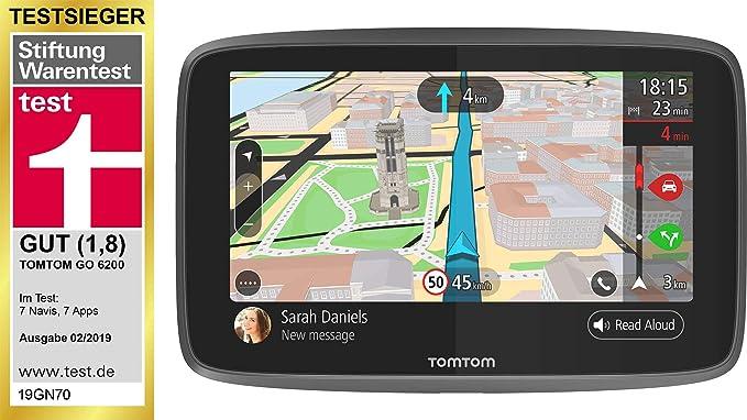 Amazon.com: TomTom GO 6200 WiFi Sistema de navegación por ...