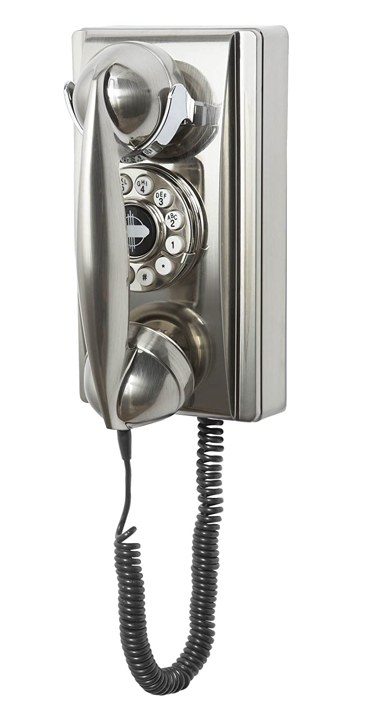 Wall Phone with Push Button Technology,