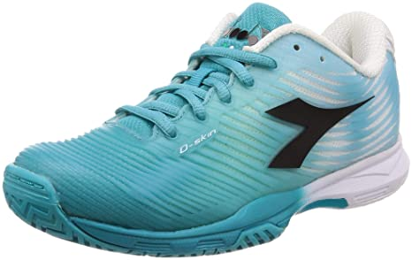 Diadora 4 AG Allcourtschuh, Scarpe da Tennis Donna, Bianco
