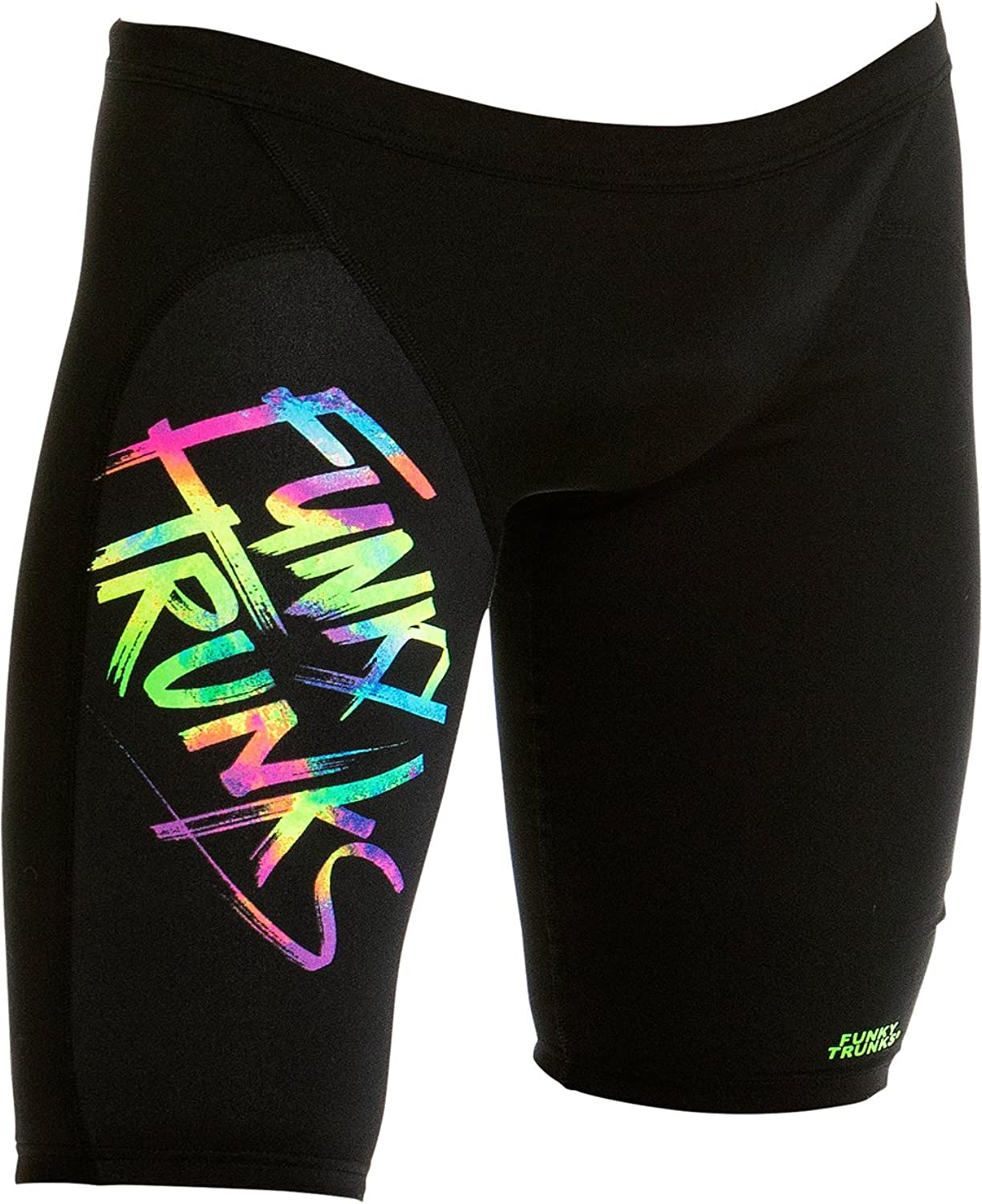 Funky Trunks Male Training Jammer - Trunk Tag