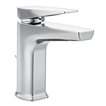 Moen S8000 Via One-Handle Low Arc Bathroom Faucet, Chrome - - Amazon.com