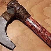 Amazon.com: Bifaz de vikingo de acero en frío 90WVBA ...