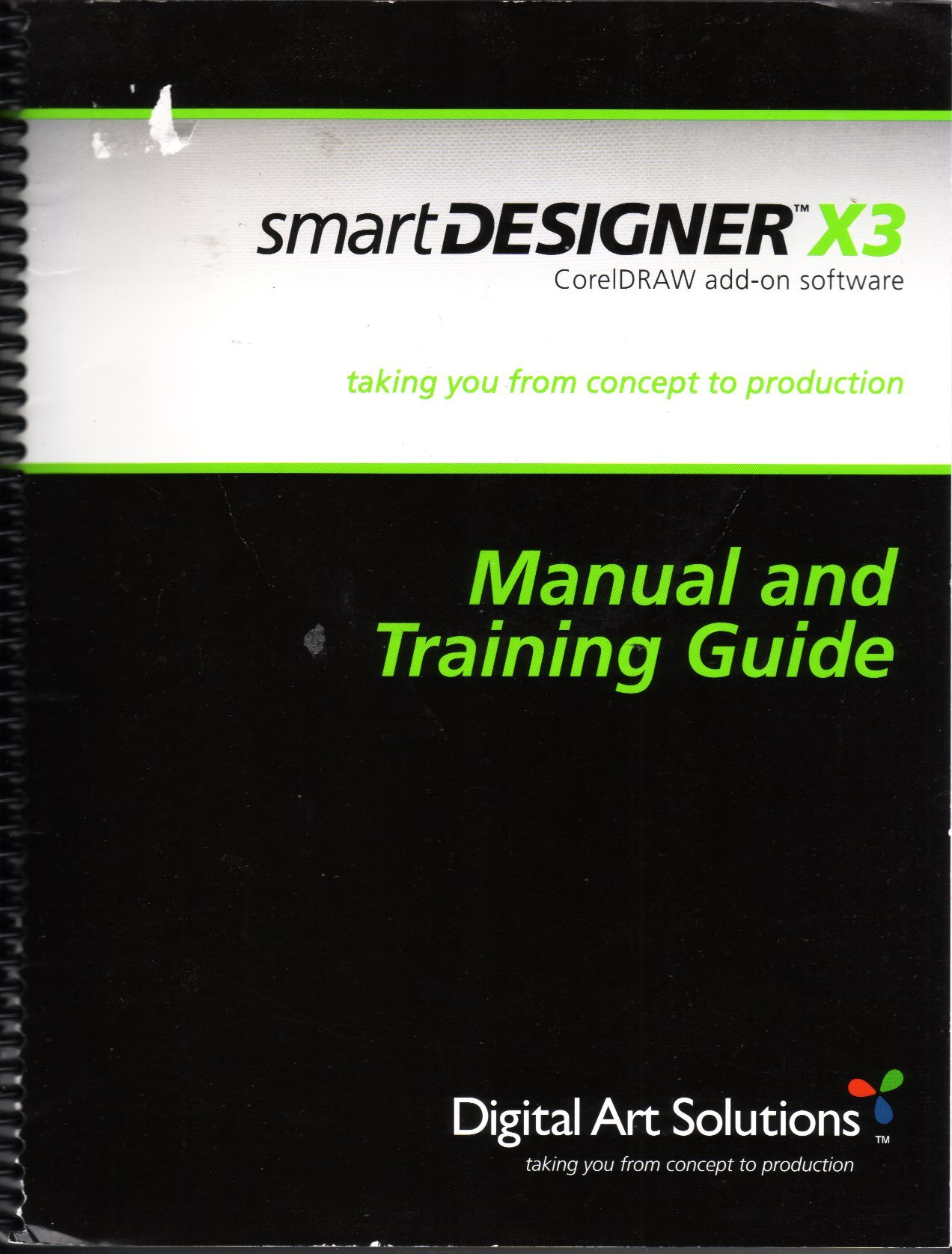 Smart Designer X3 CorelDRAW add-on software & training guide manual:  Digital Art Solutions: Amazon.com: Books