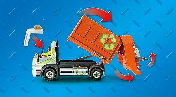 PLAYMOBIL City Life Camión de Reciclaje, A partir de 4 años (70200 ...